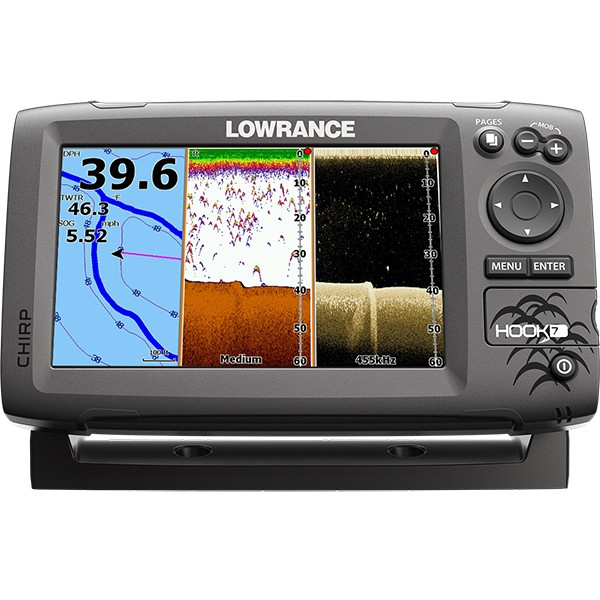Lowrance Hook-7 Mid High DownScan