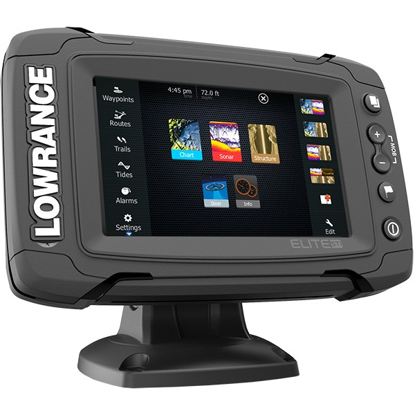 Lowrance Elite-5 Ti Mid High TotalScan