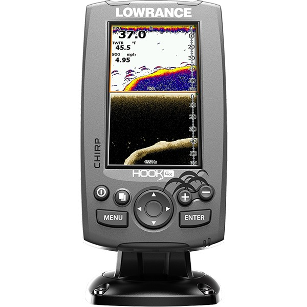 Lowrance Hook-4x Mid High DownScan
