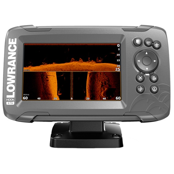 Lowrance Hook2-5 Tripleshot Coastal Row