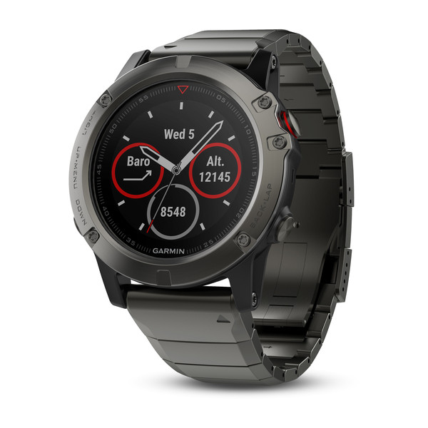 Garmin Fenix 5X Sapphire with Metal Band Умные часы
