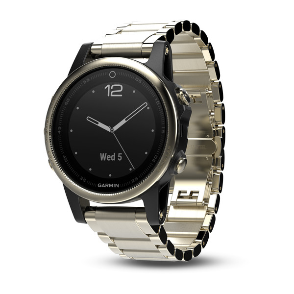 Garmin Fenix 5S Sapphire with Metal Band Умные часы
