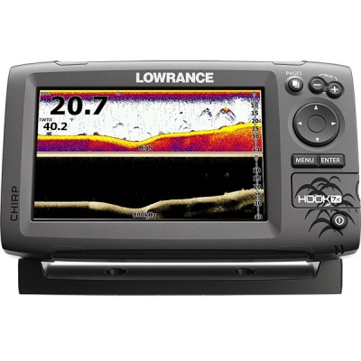 Lowrance Hook-7x Mid High DownScan