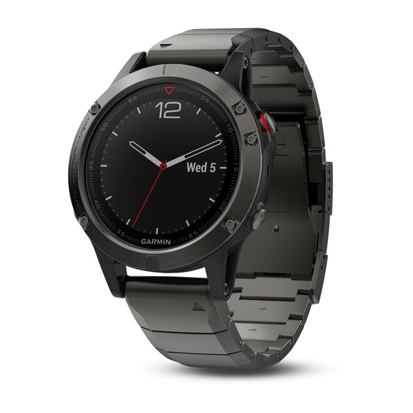 Garmin Fenix 5 Sapphire with Metal Band Умные часы