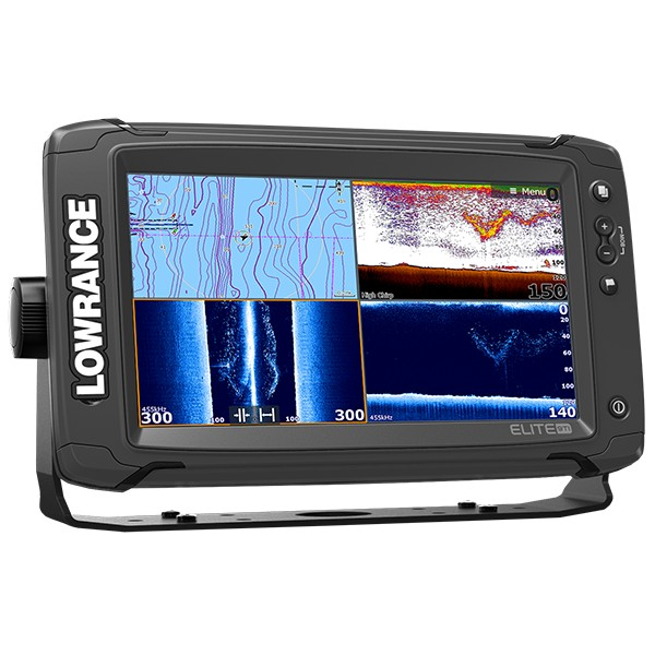 Lowrance Elite-9 Ti Mid/High/TotalScan