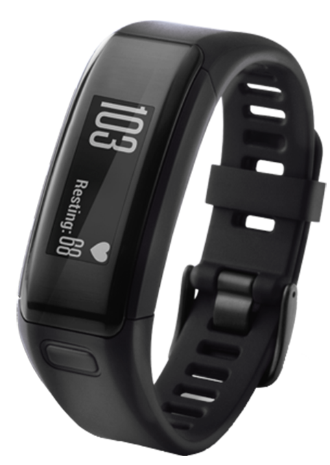 Фитнес браслет Garmin VivoSmart HR Black Large