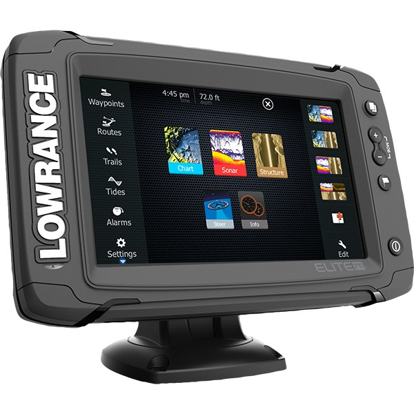 Lowrance Elite-7 Ti Mid High TotalScan