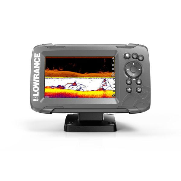 Lowrance Hook2-5 Splitshot us coastal ROW